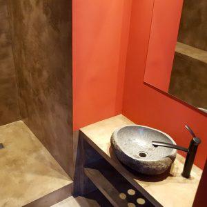 Création meuble siporex